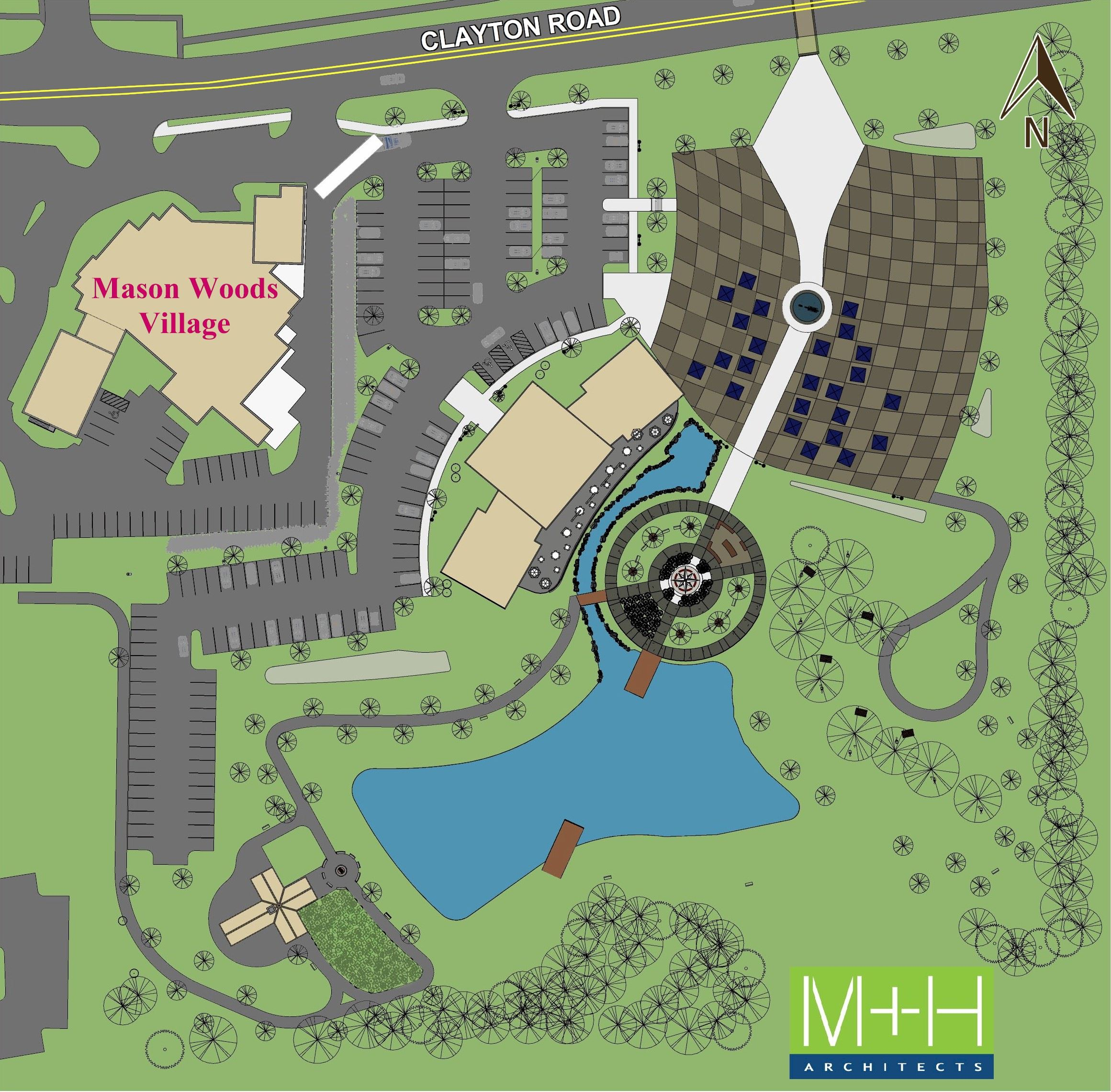 TOWN SQUARE - Colored SITE PLAN - 1-20-17-Updated