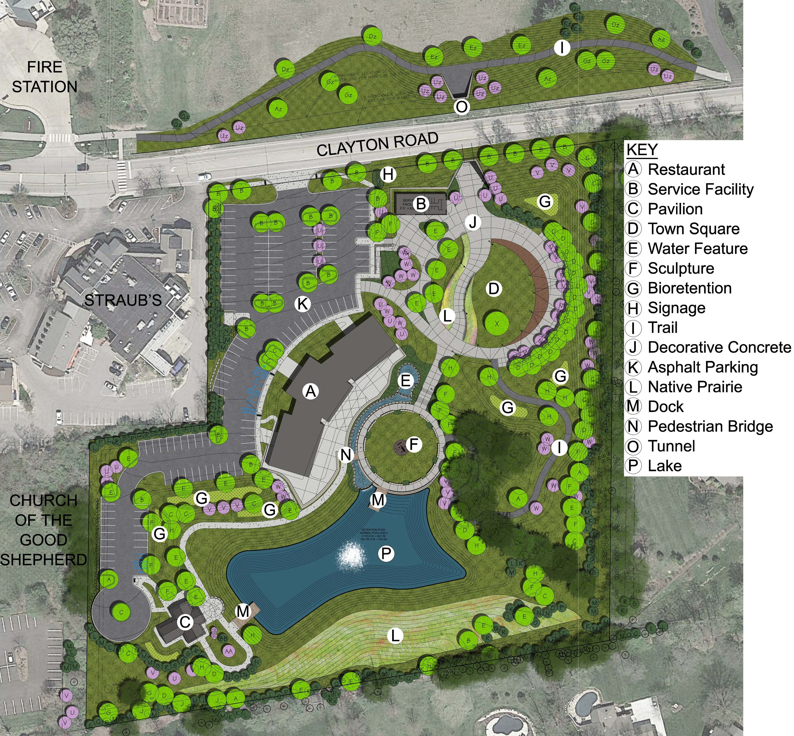 Town Square Site Plan Revision