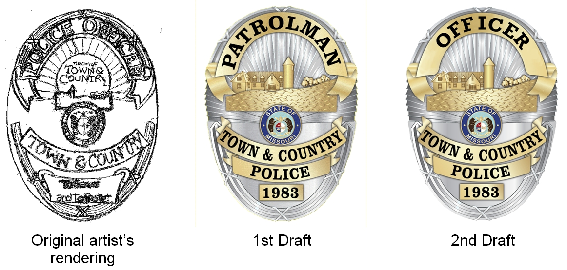 New badge drafts
