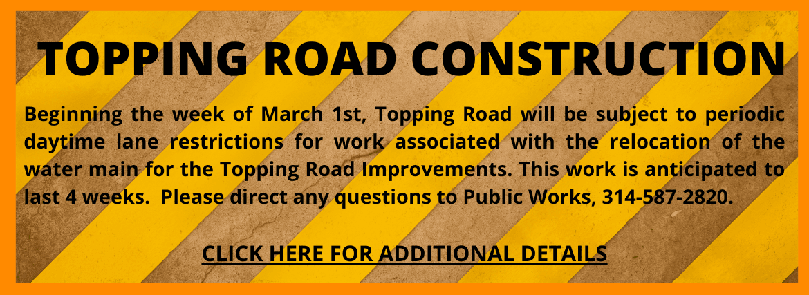 TOPPING ROAD CONSTRUCTION
